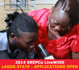 2014 SNEPCO LIVEWIRE LAGOS STATE APPLICATION